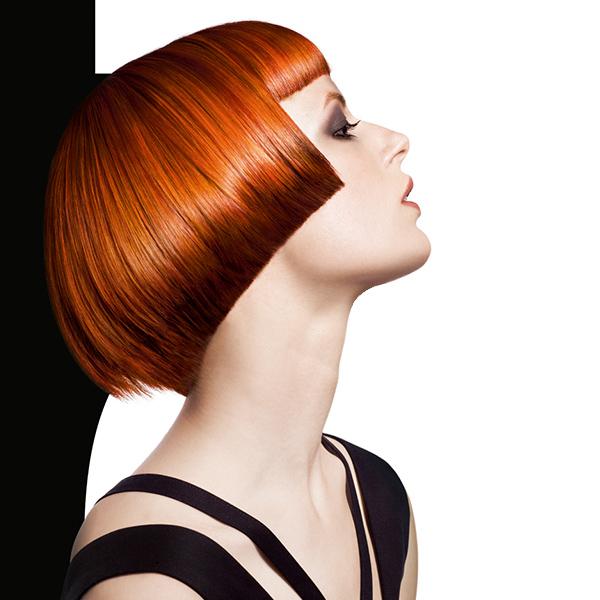 Окрашивание волос Goldwell Topchic для рыжеволосых