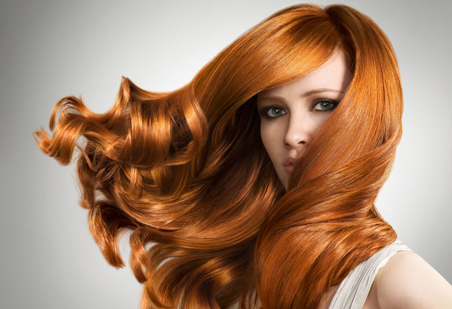 Стойкое окрашивание, дающее блеск волосам